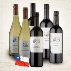 Balíček vín z Chile I