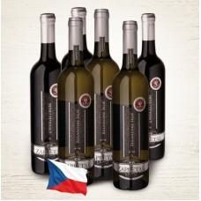 Balíček vín z vinařství Vinné sklepy Zapletal